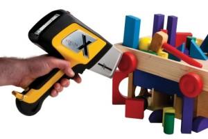 DELTA XRF Handheld Analyzer testing kids toys