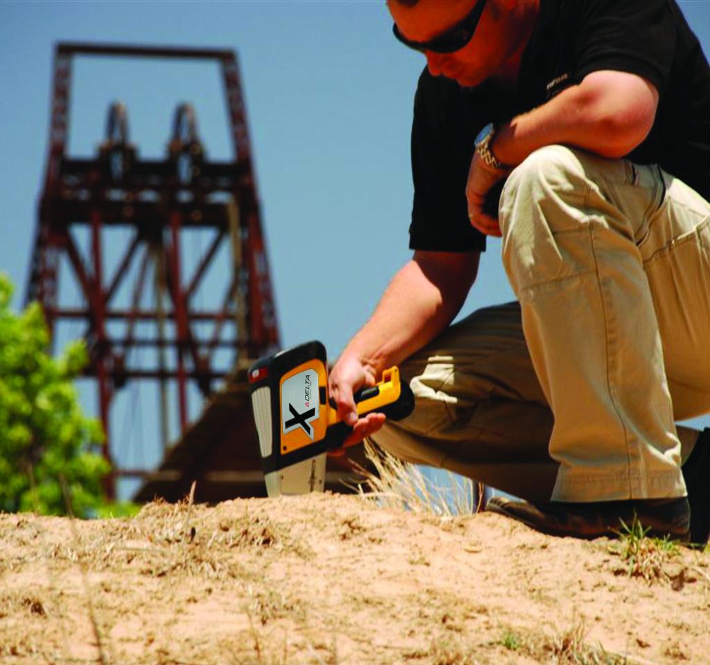 Xrf Delta Handheld Environmental Analyzer Northern