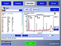 PC Software Data View