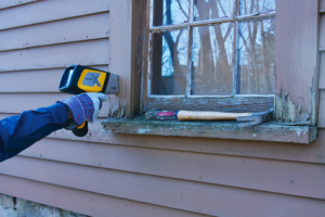 DELTA Handheld Analyzer testing for Lead Paint