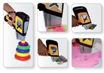 DELTA Handheld Analyzer testing kids toys