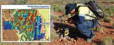 DELTA Mining & Geochemistry XPLORER for Live Geochemical Mapping