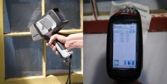 Delta Classic Handheld Analyzer testing Lead Paint, Screen shot