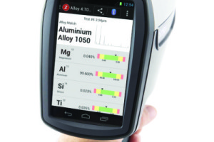 LIBZ Handheld Analyzer Screen Shot